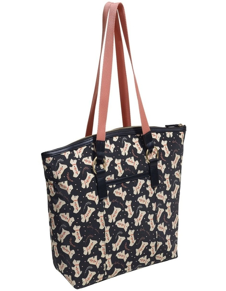 Dotty Dog Large Zip Top Tote image 2