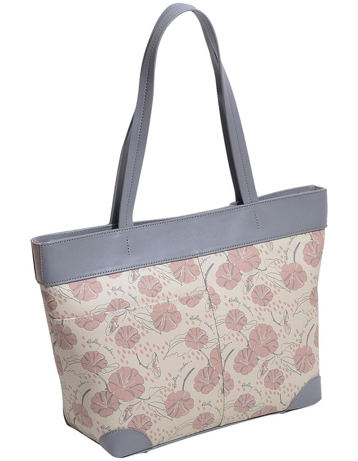 Moonflower Large Zip-Top Shoulder Tote Bag image 2