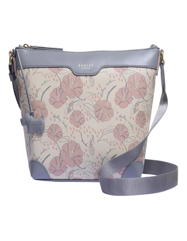 Moonflower Medum Zip-Top Crossbody Bag image 1