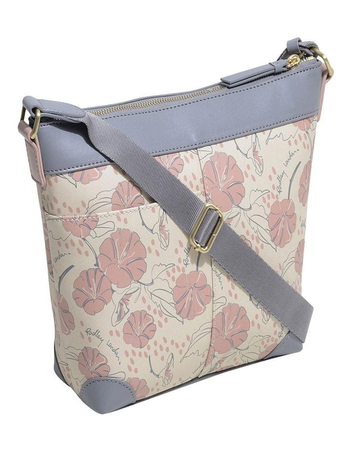 Moonflower Medum Zip-Top Crossbody Bag image 2