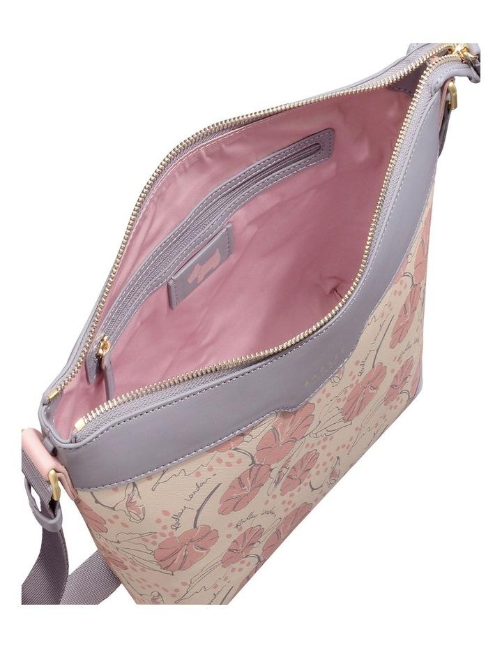 Moonflower Medum Zip-Top Crossbody Bag image 3