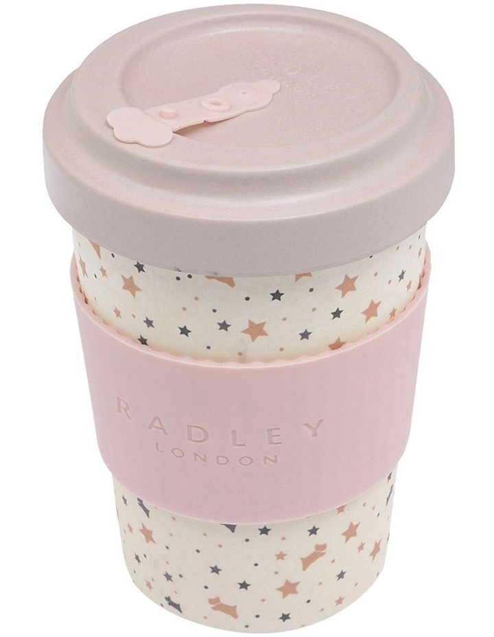 Berry Christmas Bamboo Coffee Cup image 2