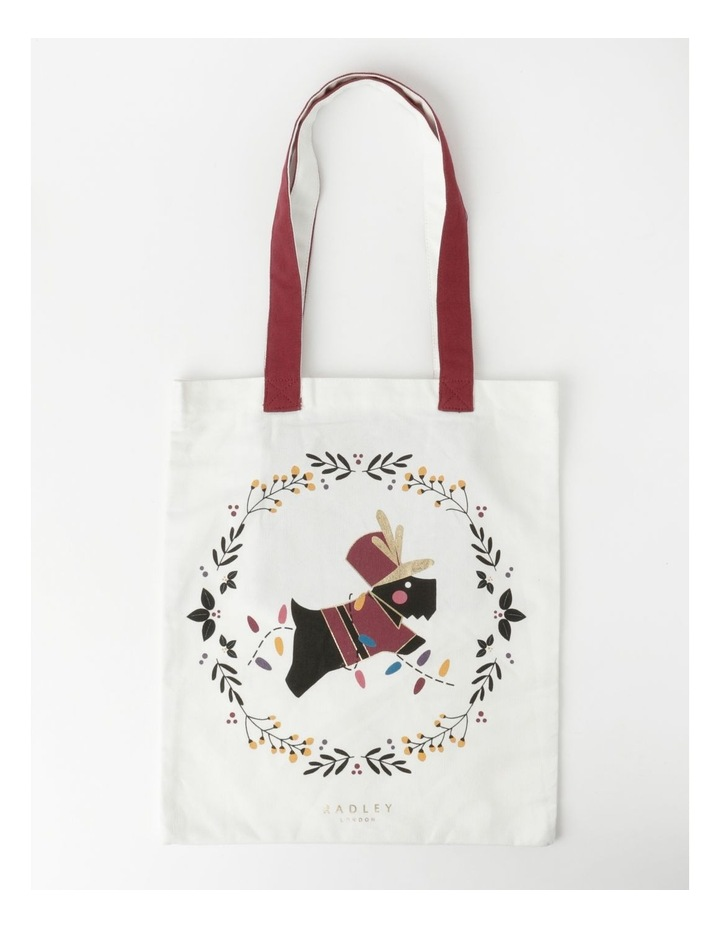 Christmas Wreath Medium Tote image 1