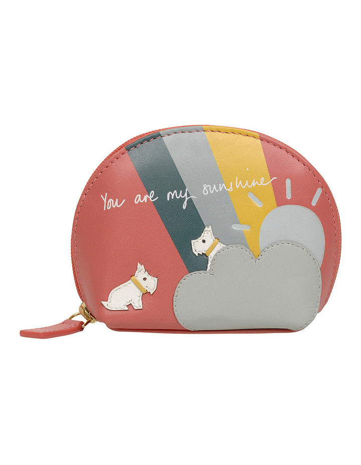 You Are My Sunshine Zip Around Coin Purse image 1