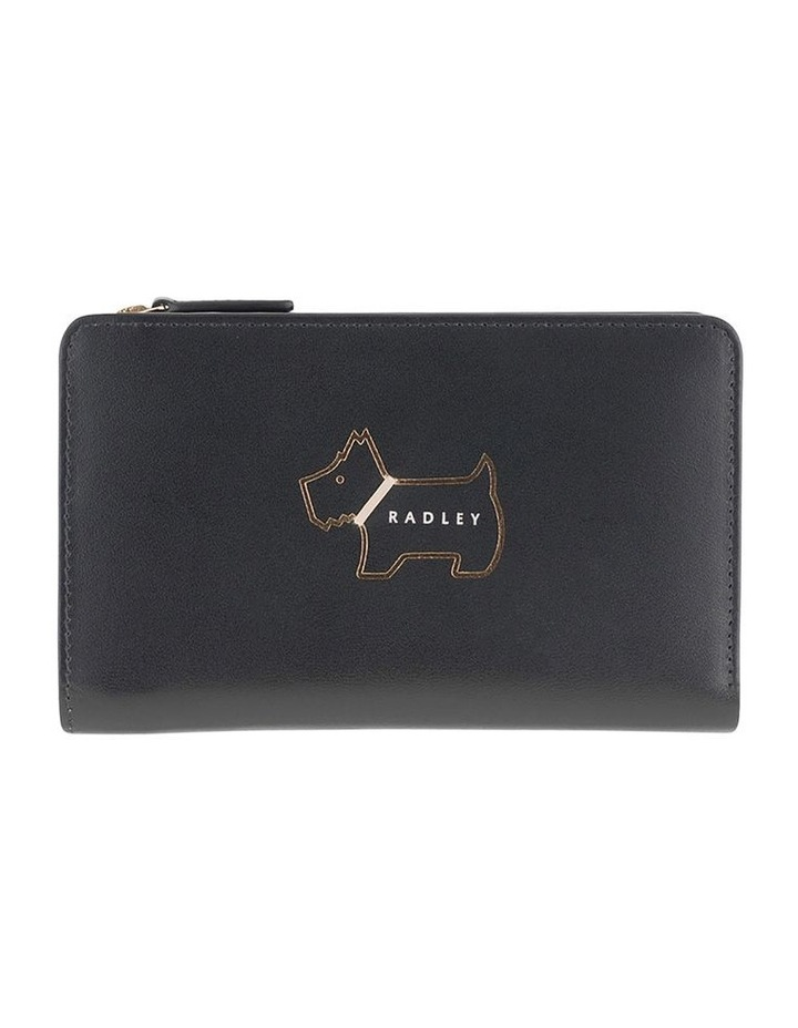 Heritage Dog Outline Medium Bifold Purse image 1
