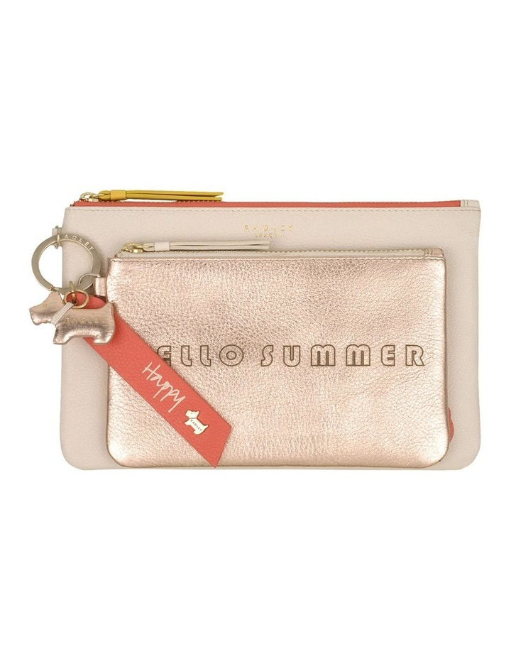 Hello Summer Zip Top Pouch image 1