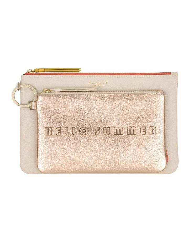 Hello Summer Zip Top Pouch image 3