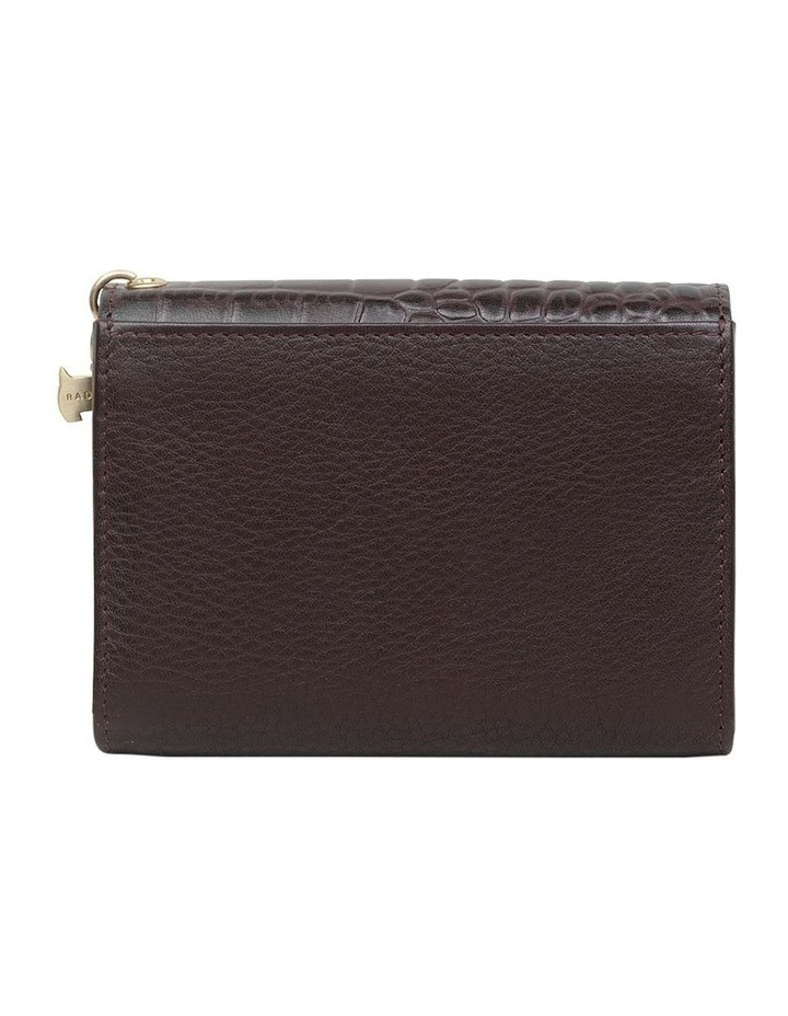 Arlington Court Faux Croc Medium Flapover Purse image 2