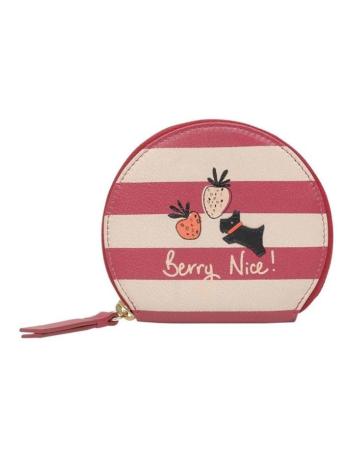 Berry Nice Small Zip Around Coin Purse image 1