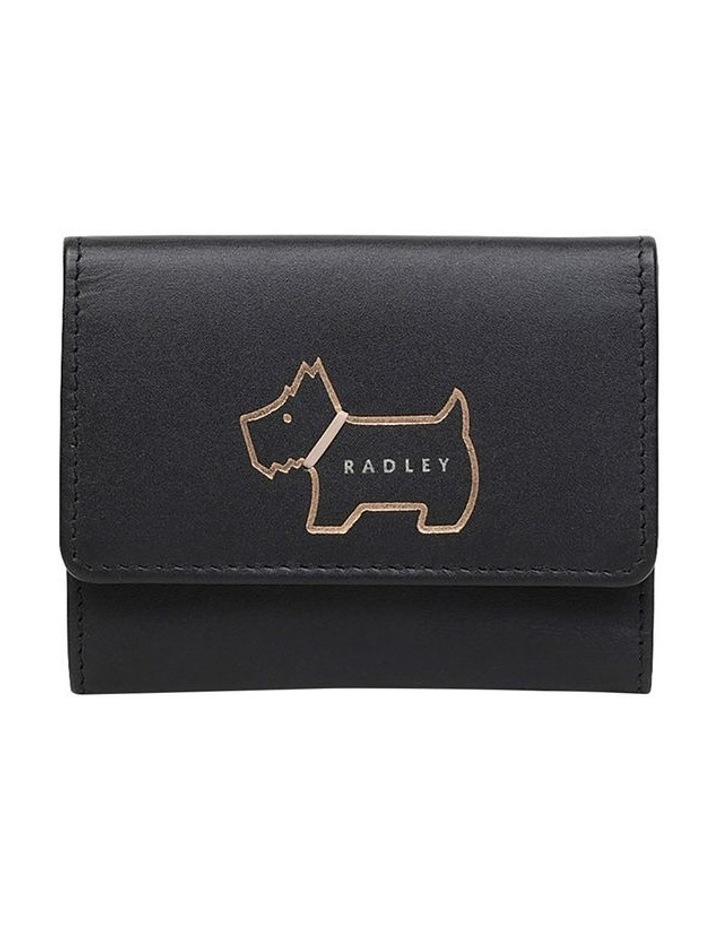 Heritage Dog Outline Small Trifold Purse image 1