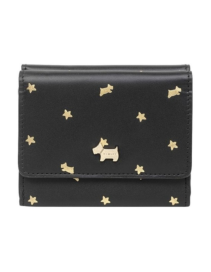 Ditsy Dog Foil Small Trifold Purse image 1