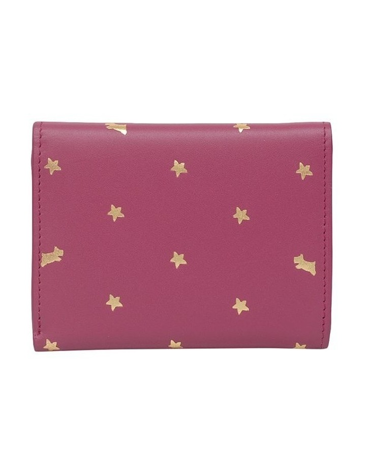 Ditsy Dog Foil Small Trifold Purse image 2