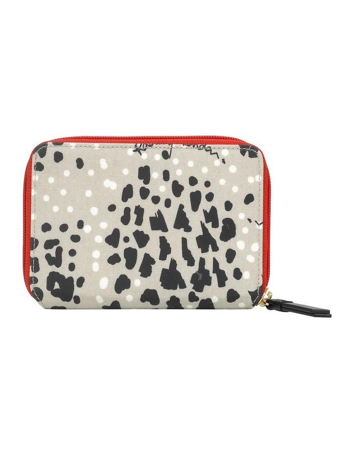 Leopard Oilskin Grey Wallet image 2