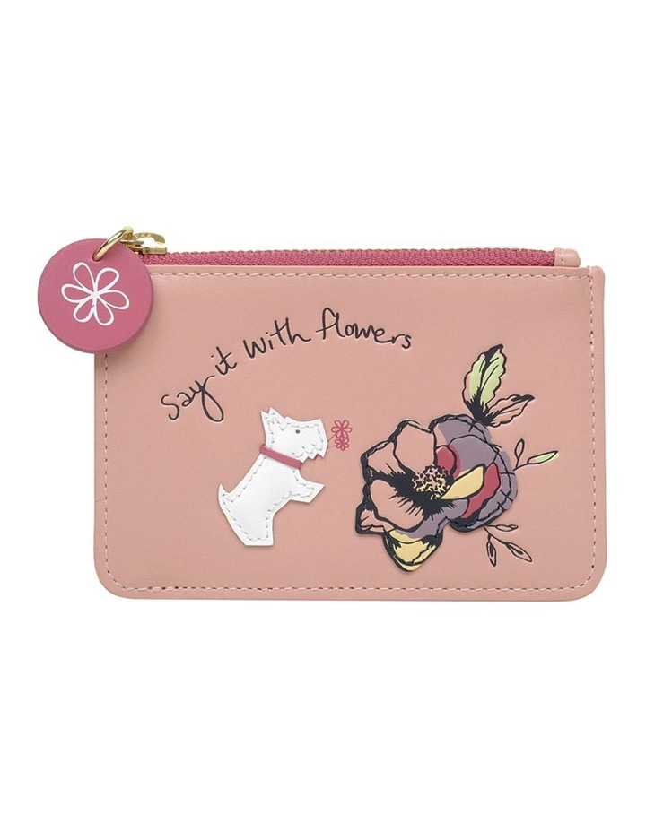 Say It With Flowers Small Ziptop Coin Purse image 1