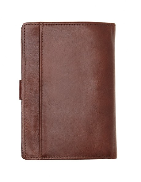 Leather Bifold Wallet with Tab Closure CW0074 image 4