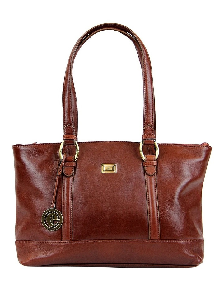 Double Handle Tote In Tan Clg013 image 1