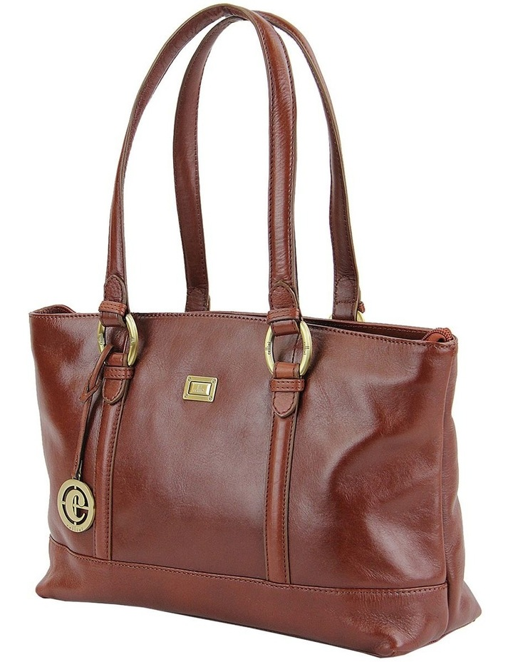 Double Handle Tote In Tan Clg013 image 2