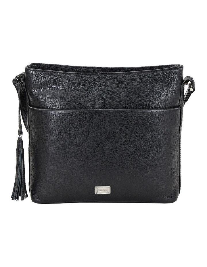 CLP006 Delta Zip Top Crossbody Bag image 1