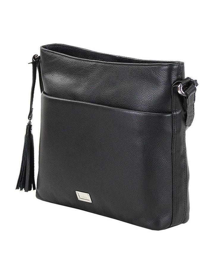 CLP006 Delta Zip Top Crossbody Bag image 2