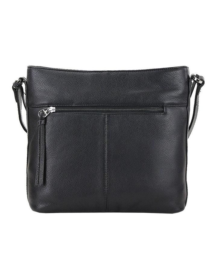 CLP006 Delta Zip Top Crossbody Bag image 3