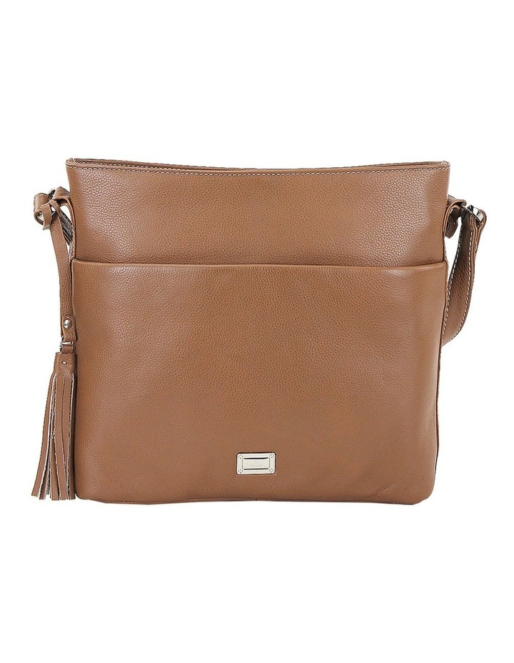 CLP006 Delta Zip Top Crossbody Bag image 1