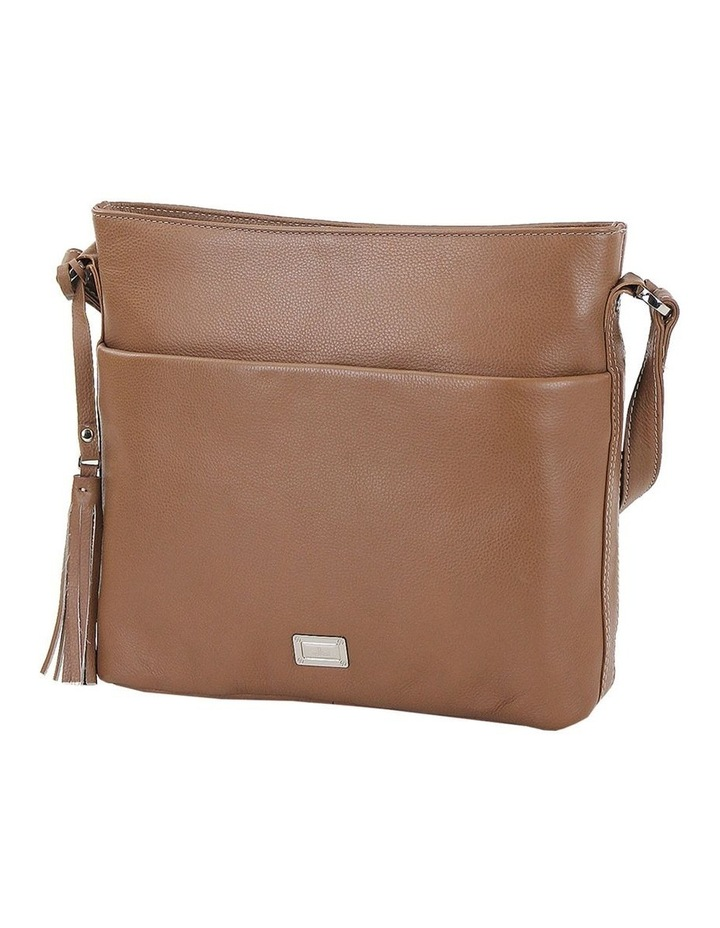 CLP006 Delta Zip Top Crossbody Bag image 2