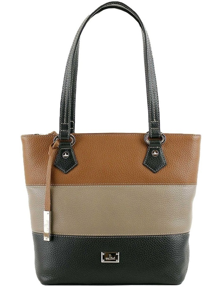 CLQ200 Hamilton Double Handle Taupe Tote Bag image 1