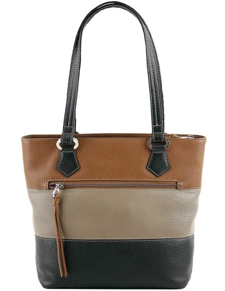 CLQ200 Hamilton Double Handle Taupe Tote Bag image 3