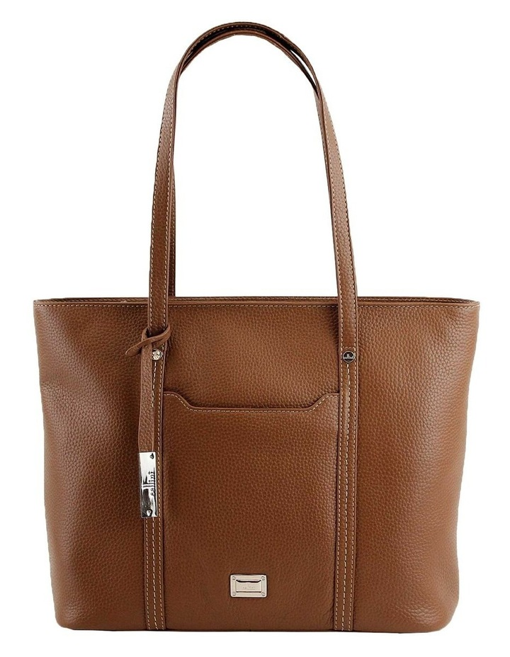 CLQ201 Colton Double Handle Tan Tote Bag image 1