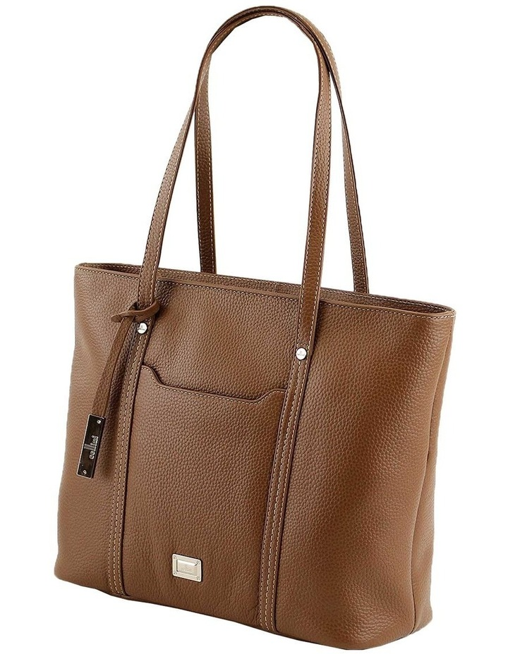 CLQ201 Colton Double Handle Tan Tote Bag image 2