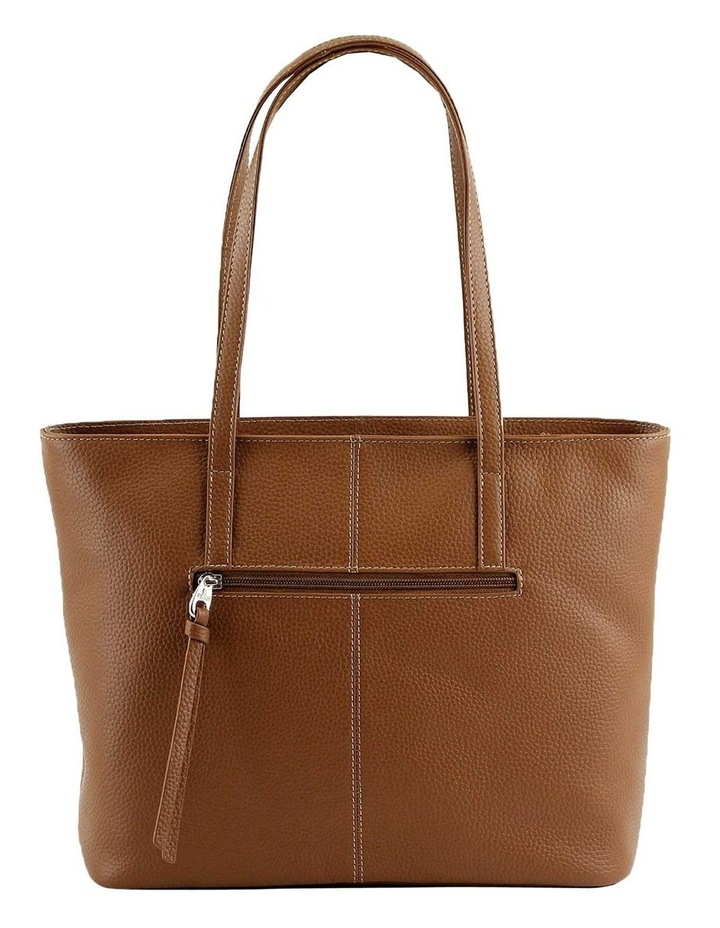 CLQ201 Colton Double Handle Tan Tote Bag image 3