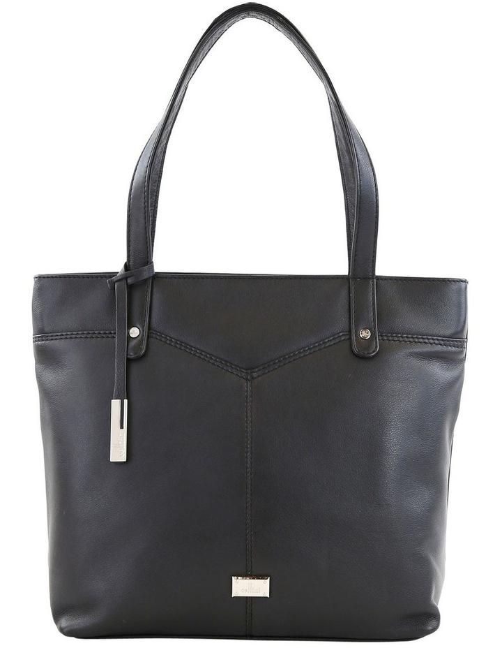 CLQ205 Fairview Double Handle Black Tote Bag image 1