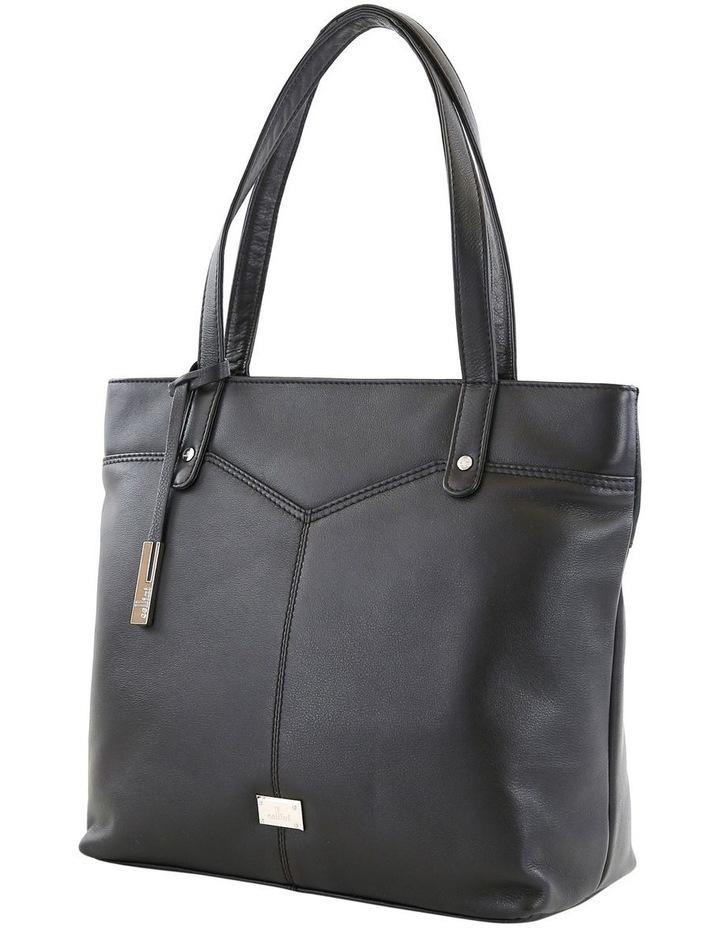 CLQ205 Fairview Double Handle Black Tote Bag image 2