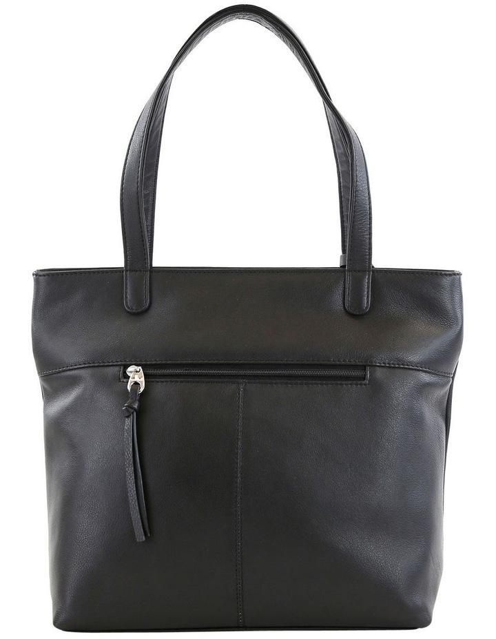 CLQ205 Fairview Double Handle Black Tote Bag image 3