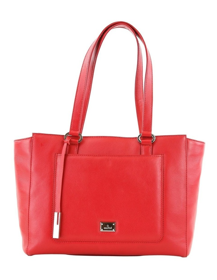 CLQ210 Manning Double Handle Red Tote Bag image 1