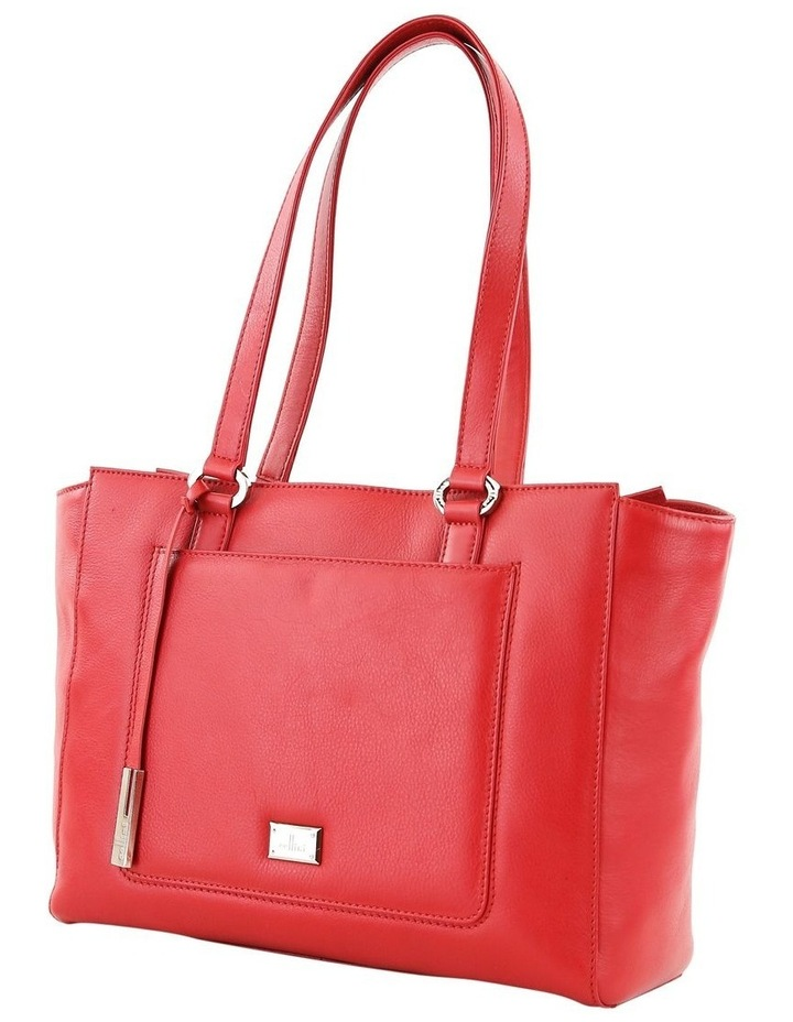 CLQ210 Manning Double Handle Red Tote Bag image 2