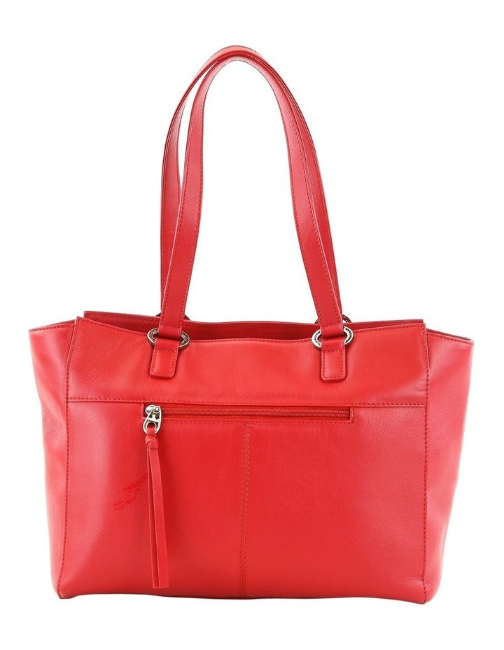CLQ210 Manning Double Handle Red Tote Bag image 3