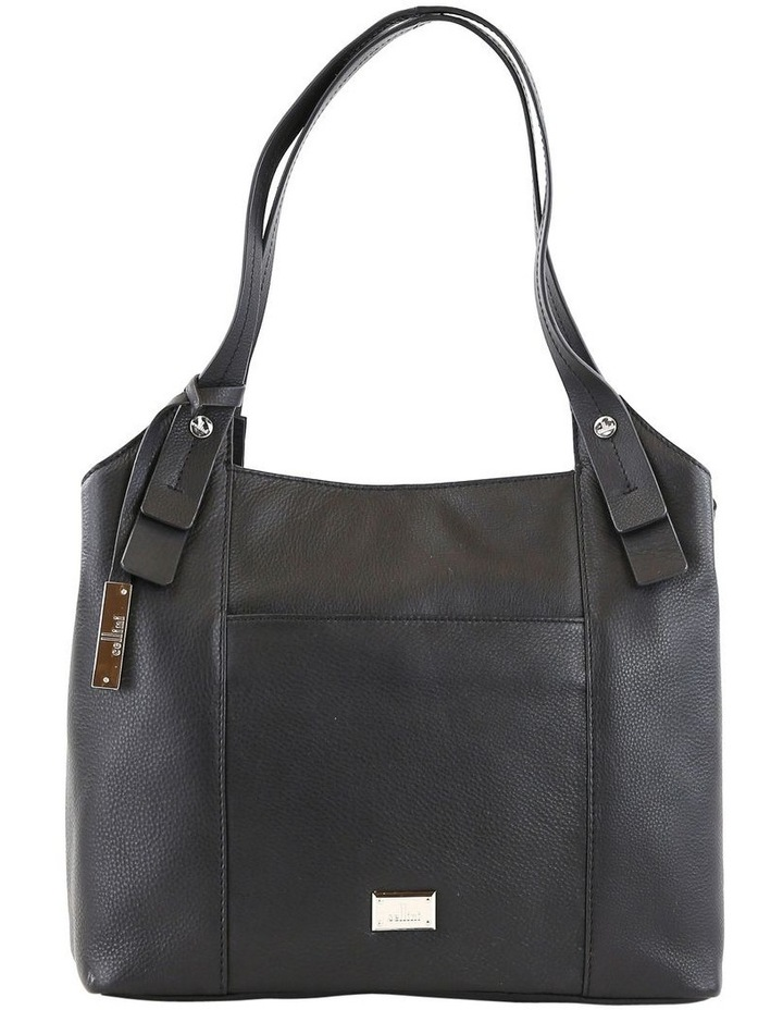 CLQ211 Mercer Double Handle Black Satchel image 1