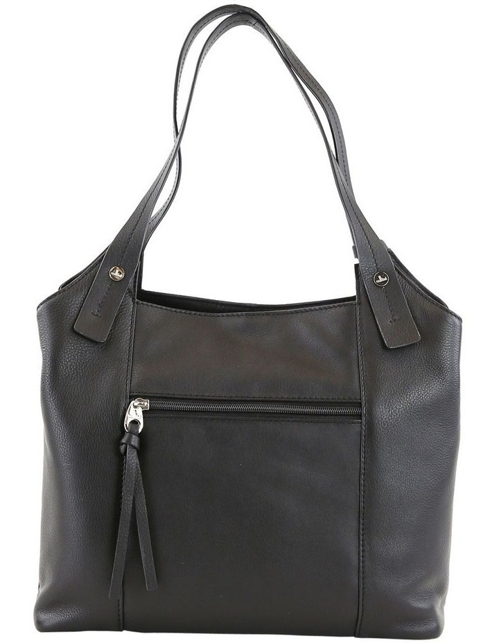 CLQ211 Mercer Double Handle Black Satchel image 2