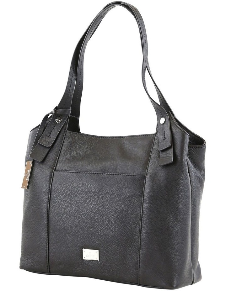 CLQ211 Mercer Double Handle Black Satchel image 3