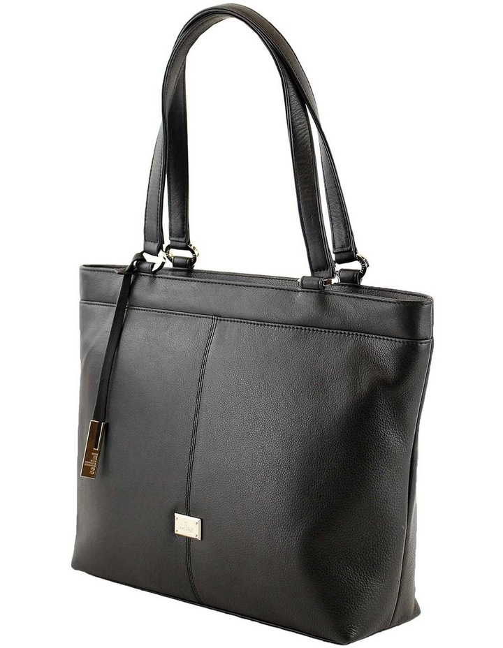 CLQ250 Hixson Double Handle Black Tote Bag image 2