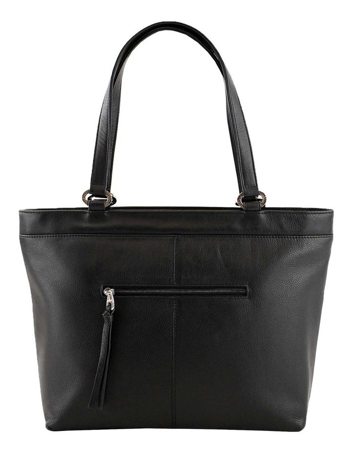 CLQ250 Hixson Double Handle Black Tote Bag image 3