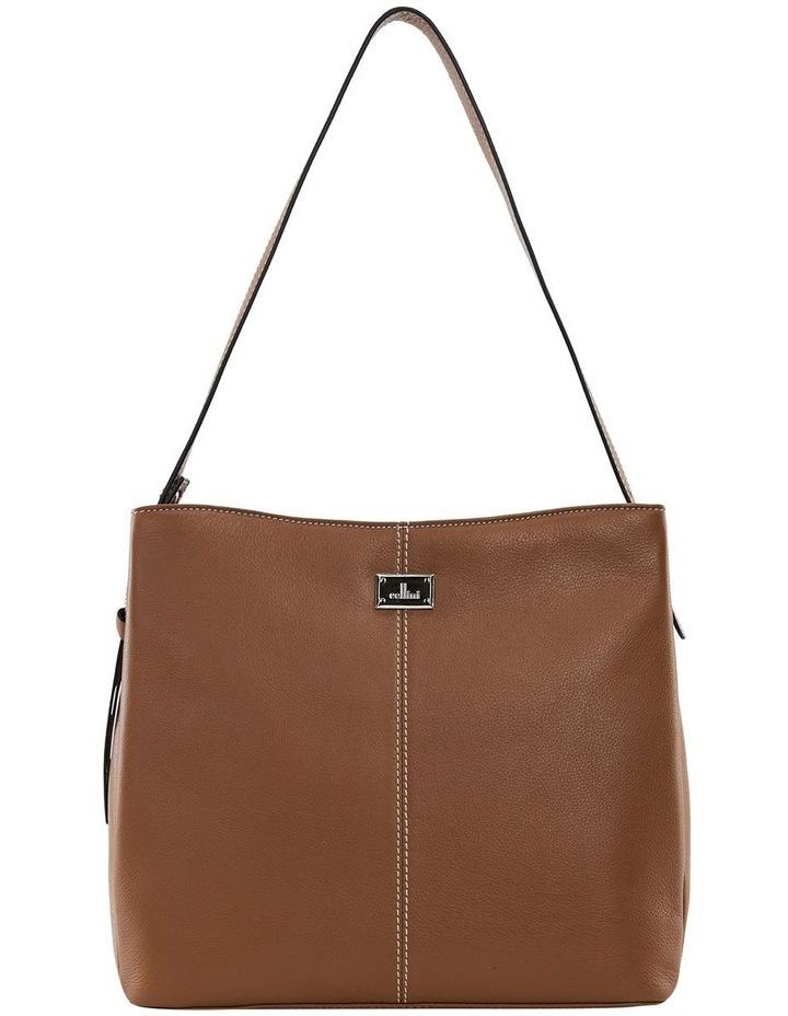Nelson Tan Zip Top Hobo Bag image 1