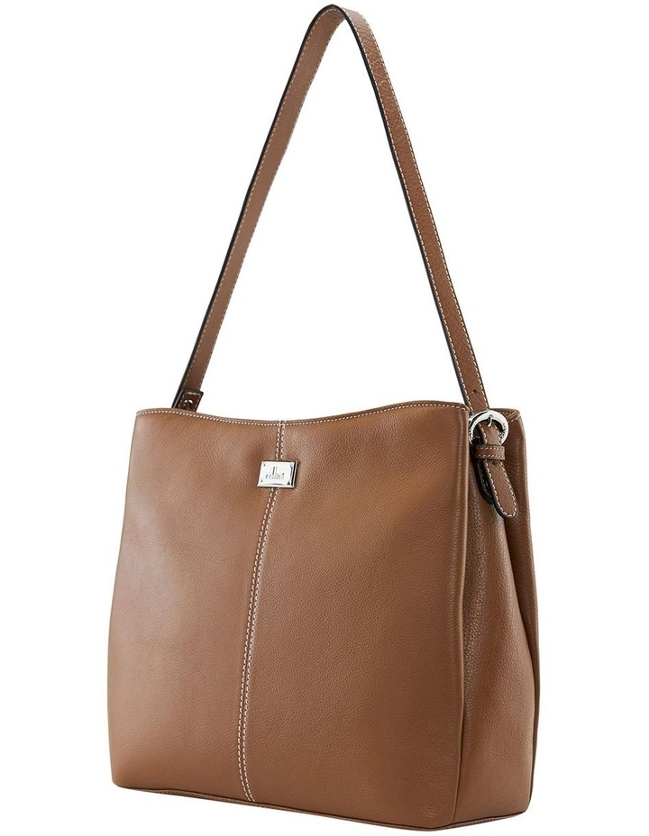 Nelson Tan Zip Top Hobo Bag image 2