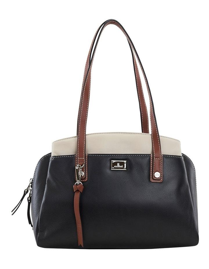 Montana Blk Multi Zip Top Satchel Bag image 1