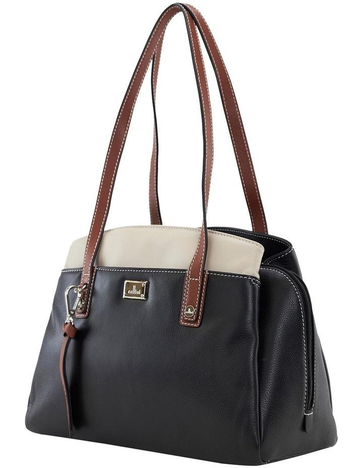 Montana Blk Multi Zip Top Satchel Bag image 2