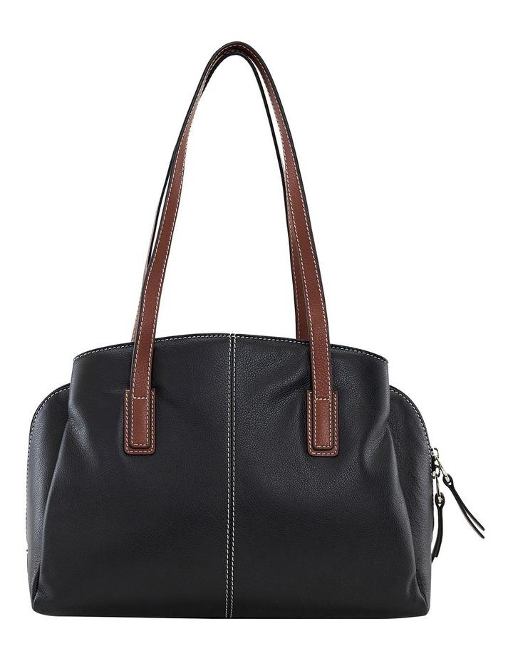 Montana Blk Multi Zip Top Satchel Bag image 3