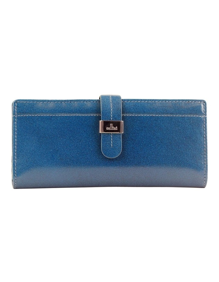 Trifold Tab Wallet In Blue Cwf006 image 1