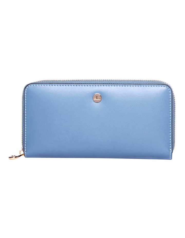 Dover RFID Continental Wallet in Blue image 1