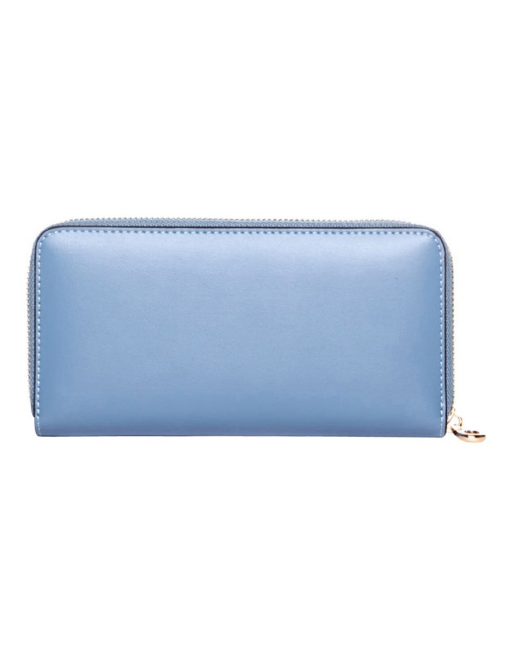 Dover RFID Continental Wallet in Blue image 3